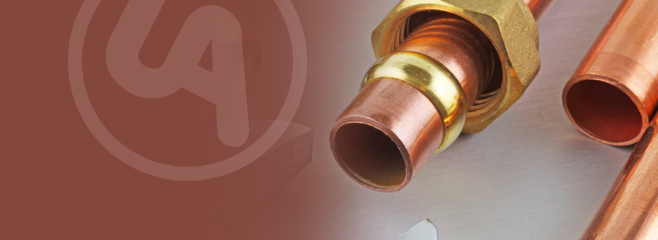 Copper pipe fitting Caption